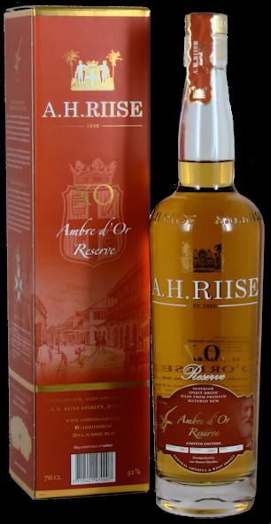 A.H. Riise XO Reserve Sauternes Cask Rum 42% vol. 0,7l