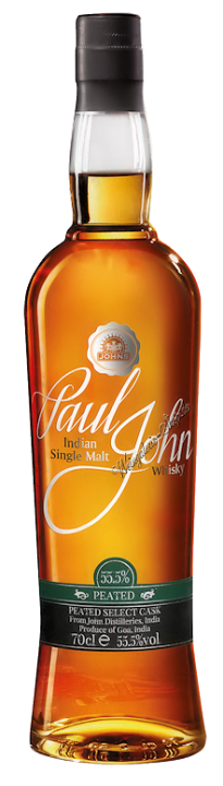 Paul John Peated Select Cask Whisky 55,5% vol. 0,7l