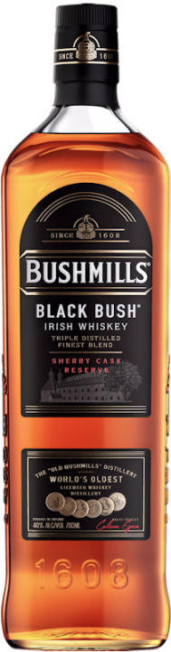 Bushmills Black Bush Irish Whiskey 40% vol. 0,7l