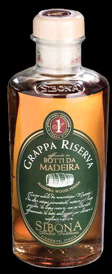 Sibona Grappa Riserva Botti da Madeira 40% vol. 0,5l