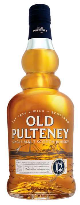Old Pulteney Malt Whisky 12 Jahre 40,0% vol. 0,7l