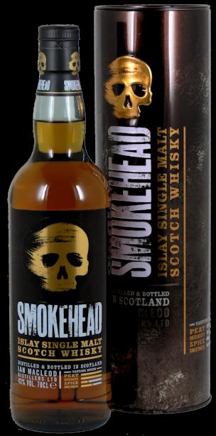 Smokehead Islay Single Malt Whisky The Rock Edition 43,0% vol. 0,7l