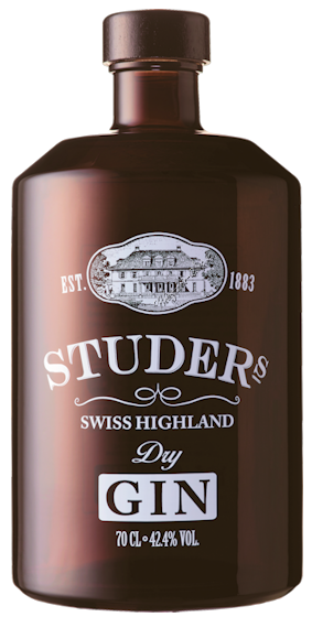 Studer Swiss Highland Dry Gin 42,4% vol. 0,7l