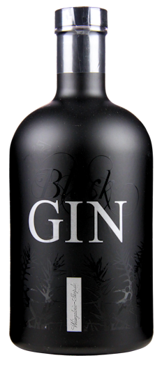 Gansloser Black Gin 45% vol. 0,7l