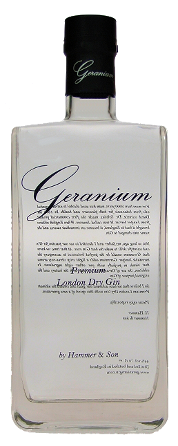 Geranium Gin 44,0% vol. Premium London Dry Gin 0,7L