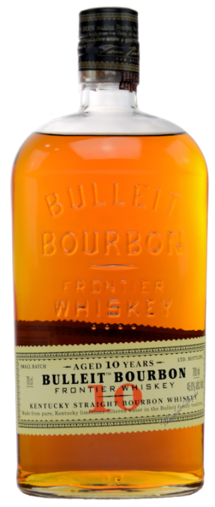 Bulleit Kentucky Straight Bourbon Whiskey 45,6% vol. 10 Jahre 0,7l