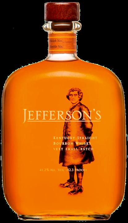 Jeffersons Small Batch Bourbon Whiskey 41,2% vol. 0,70l