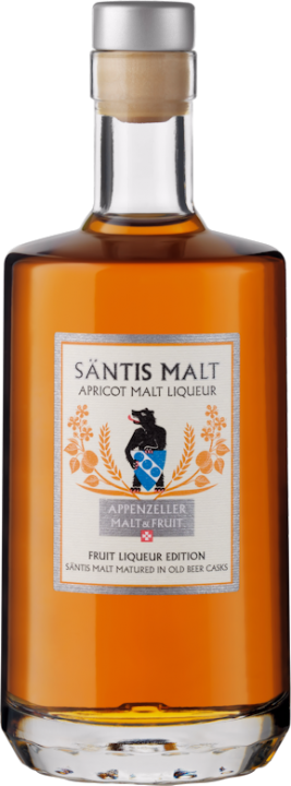Säntis Apricot Malt Liqueur 35% vol. 0,5l