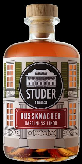 Studer Nussknacker Haselnuss-Likör 28% vol. 0,5l