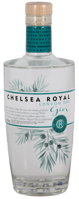 Chelsea Royale London Dry Gin 43,1% vol. 0,7l