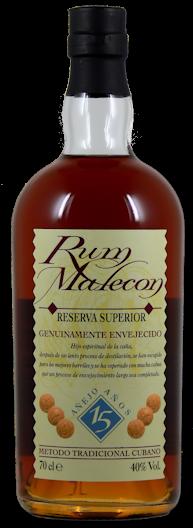 Malecon Reserva Superior 15 Jahre 40% vol. 0,7l