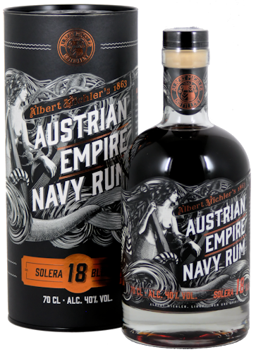 Austrian Empire Navy Rum Solera 18 Solera 40% vol. 0,7l