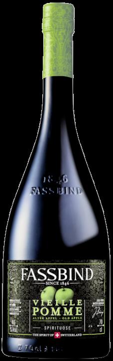 Fassbind Vieille Pomme (alter Apfel) 40% vol. 0,7l