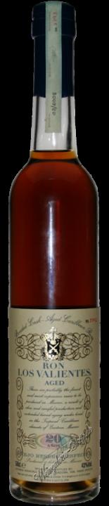 Los Valientes Anejo Reserva Especial Rum 20 Jahre
