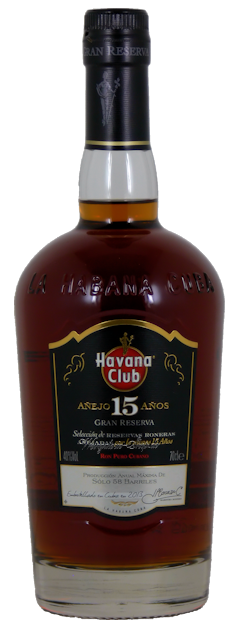 Havana Club Rum Gran Reserva 15 Jahre 40% vol. 0,7 Liter