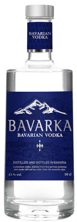 Bavarka Bavarian Vodka 43% vol. 0,7l