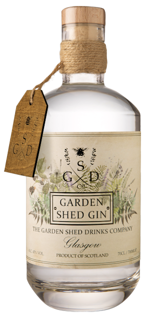 Garden Shed Gin 45% vol. 0,7l