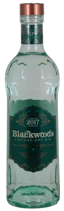 Blackwoods Vintage Dry Gin 40% vol. 0,7l