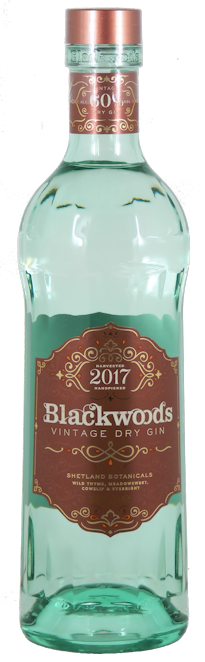 Blackwoods Vintage Dry Gin 60% vol. 0,7l