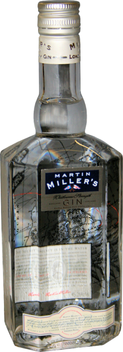 Martin Millers Dry Gin Westbourne Strength  45,2% vol.