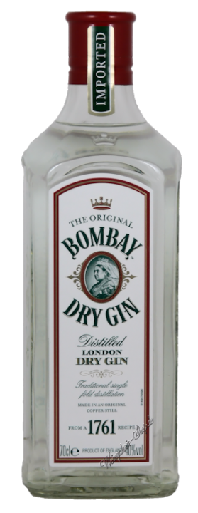 Bombay London Dry Gin 37,5% vol. 0,7l