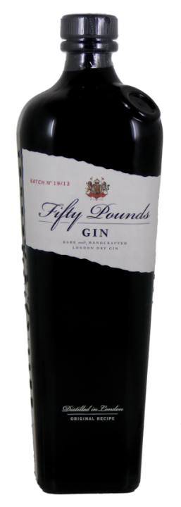 Fifty Pounds Gin 43,5% vol. 0,7l