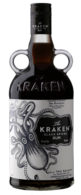 The Kraken Black Spiced Rum 40% vol. 0,7l