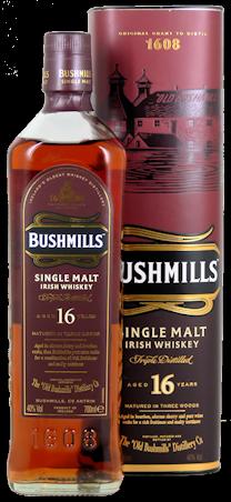 Bushmills 16 Jahre Irish Whiskey Three Woods 40% vol. 0,7l