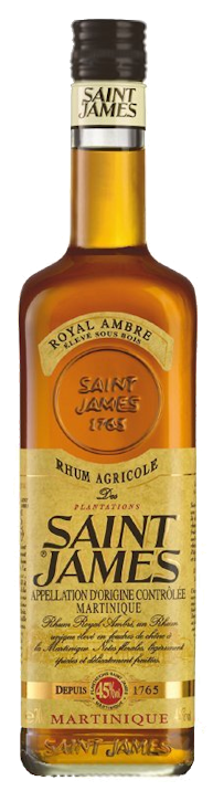 Saint James Royal AmbreRum 45% vol. 0,7l
