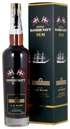 A.H. Riise Danish Navy Rum 0,7l