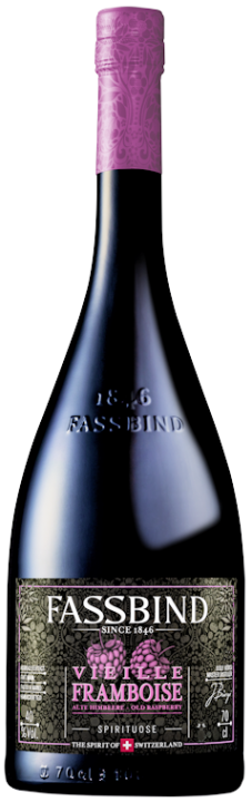 Fassbind Vieille Framboise (alte Himbeere) 40% vol. 0,7l