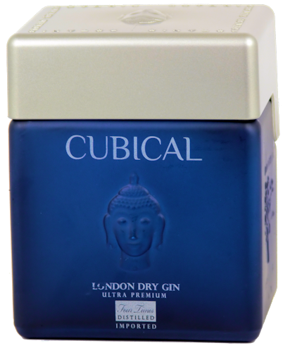 Cubical Ultra Premium Gin 45% vol. 0,7l