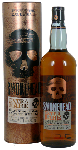 Smokehead Extra Rare Whisky 40% vol. 1,0 Ltr.
