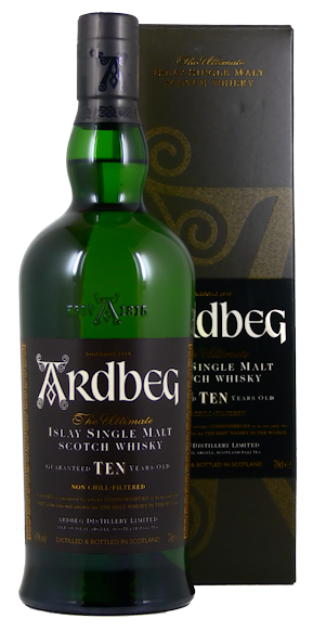 Ardbeg Whisky 10 Jahre Islay Single Malt 46% vol.