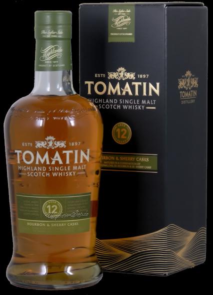 Tomatin 12 Jahre Single Malt Scotch Whisky 43% vol. 0,7l