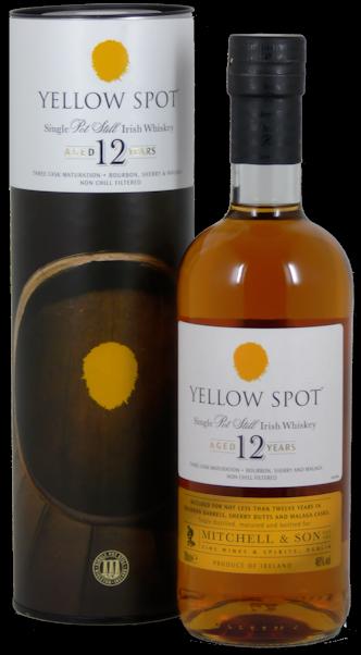 Yellow Spot Irish Whiskey 12 Jahre 46% vol. 0,7l