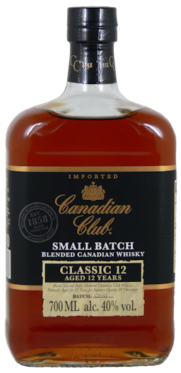 Canadian Club Classic Whisky 12 Jahre 40% vol. 0,7l