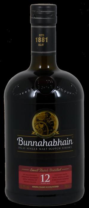 Bunnahabhain 12 Jahre Single Malt Scotch Whisky 46,3% vol. 0,7l
