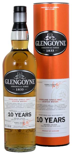 Glengoyne 10 Jahre Single Malt Scotch Whisky 40% vol.
