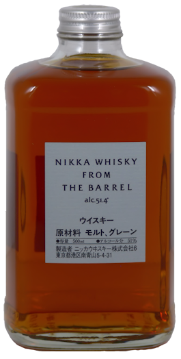 Nikka Whisky from the Barrel 51,4% vol. 0,5l