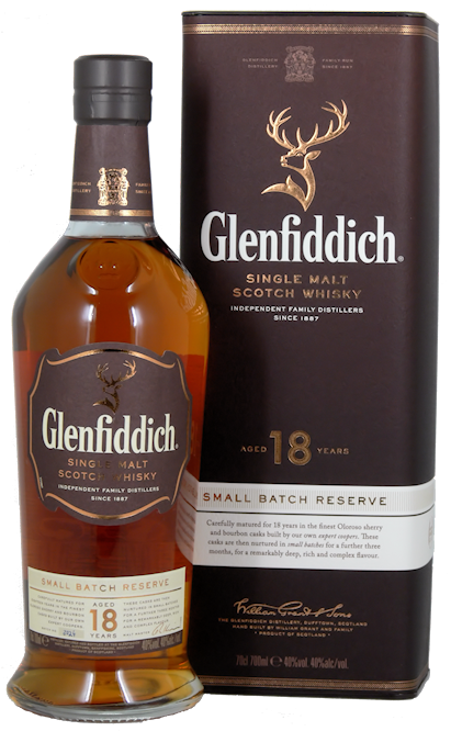 Glenfiddich 18 Jahre Small Batch Reserve Single Malt