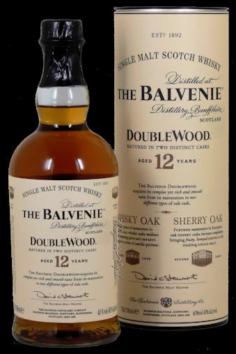 Balvenie Double Wood Whiskey 12 Jahre 40% vol. 0,7l.