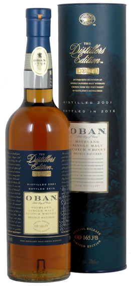Oban Distillers Edition Single Malt Scotch Whisky 43% vol. 0,7l