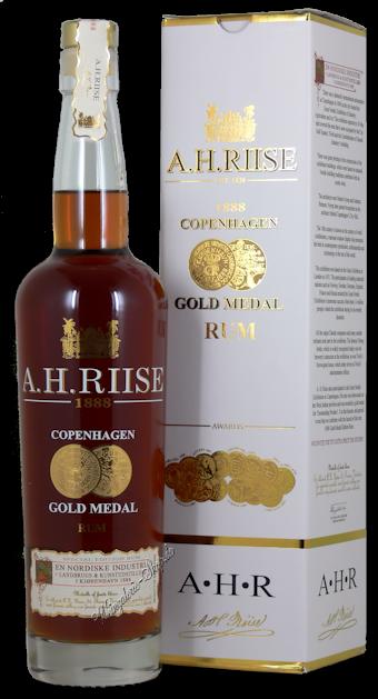 A.H. Riise 1888 Copenhagen Gold Medal Rum 40% vol. 0,7l