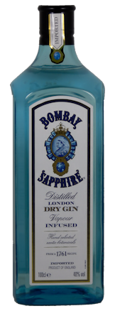 Bombay Sapphire London Dry Gin 1 Literflasche
