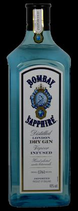 Bombay Sapphire London Dry Gin 40% vol. 0,7l