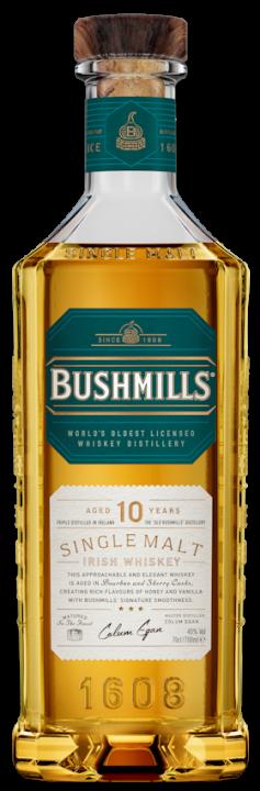 Bushmills Malt 10 Jahre Irish Whiskey 40% vol. 0,7l