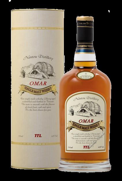 Omar Sherry Cask Single Malt Whisky 46% vol. 0,7l