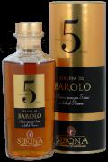 Sibona Barolo Grappa Invecchiata 5 Anni 44% vol. 0,5 Liter
