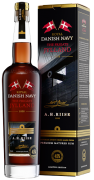 A.H. Riise Royal Danish Navy Rum The Frigate Jylland 45% vol. 0,7l
